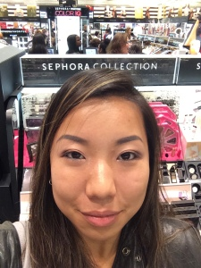 Nicole Fu free birthday make up Sephora