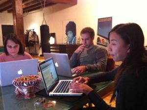 Nicole Fu at Clssy's HTML:CSS workshop