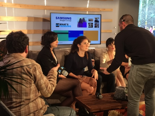 Shiri Appleby at the Samsung Blogger Lounge, SXSW 2015