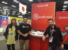 Brandicted at SXSW Trade Show 2014
