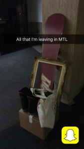 Nicole Fu Remaining Belongings via Snapchat