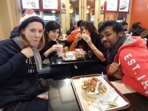 Elise Barbau, Maya and Mira Abou-Rjeili, Arafat Mohammed