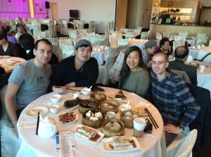Marco Dagostino, Chris Lan, Nicole Fu, Paul Nakhleh