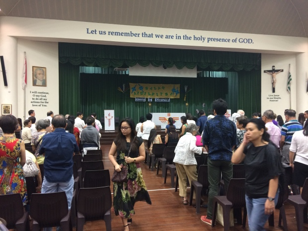Nicole Fu Novena Church at SJI Junior 17 July 2016