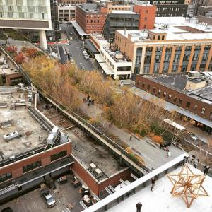 View of The High Line and Meatpacking from the Whitney, New York