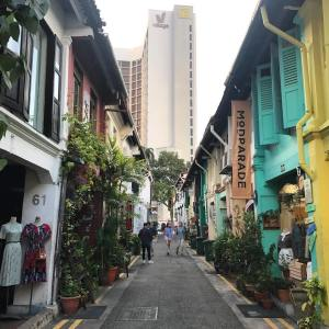Haji Lane Singapore by Nicole Fu