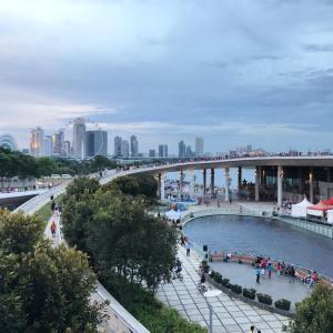 Marina Barrage Singapore by Nicole Fu