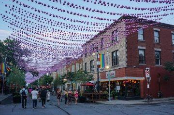 BerriUQAM Gay Village Montreal by Samantha Fu