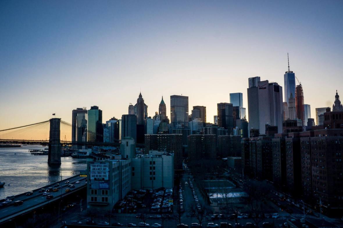 Manhattan NYC by Samantha Fu