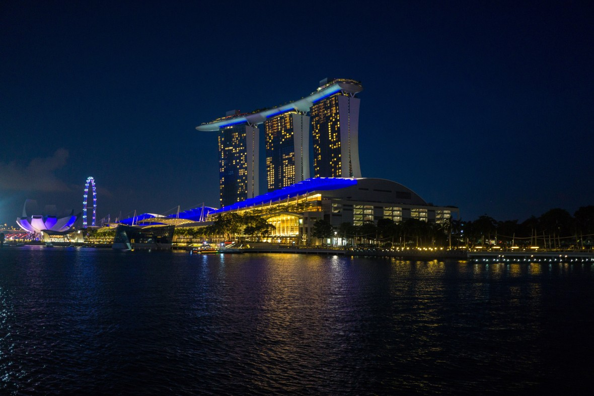 Marina Bay Sands Singapore by Samantha Fu