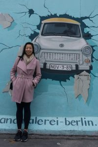 Nicole Fu Berlin Wall