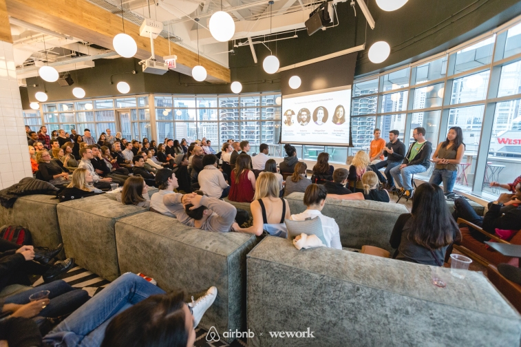 Airbnb x WeWork WorkationCHI