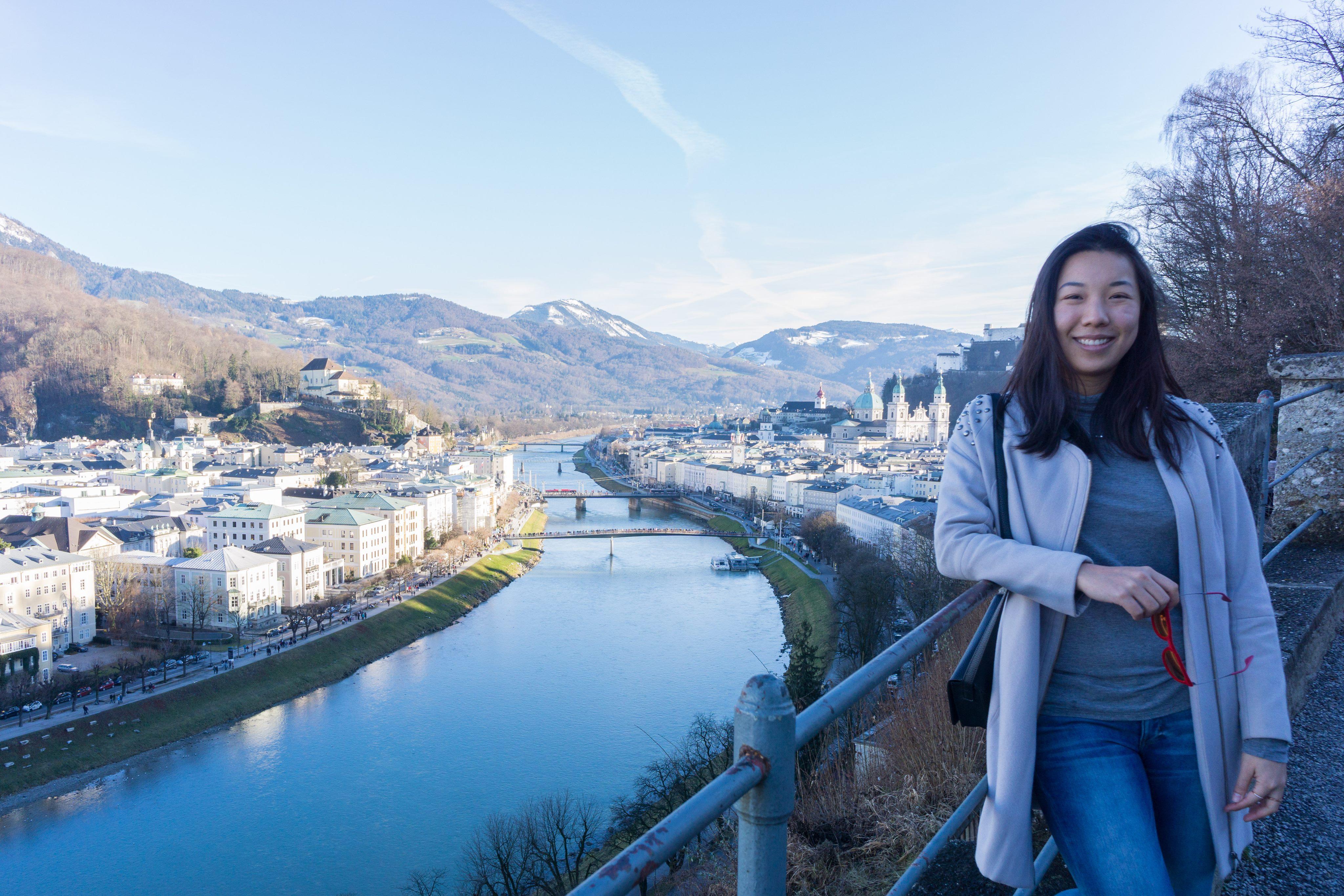 Nicole Fu in Salzburg, Austria